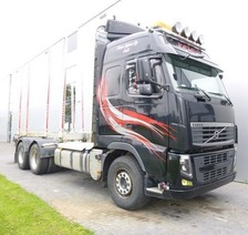 Volvo FH13.540 6X4 TIMBER EURO 5